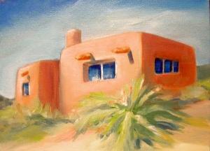 Adobe Cabin in Arizona